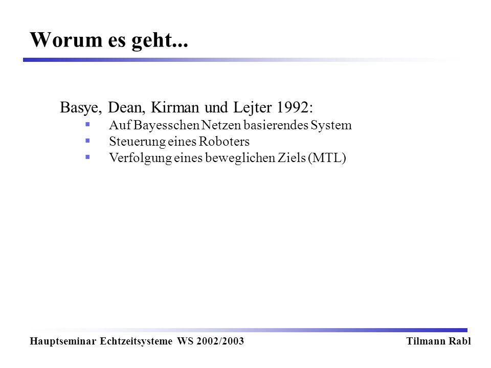 Worum es geht... Basye, Dean, Kirman und Lejter 1992: