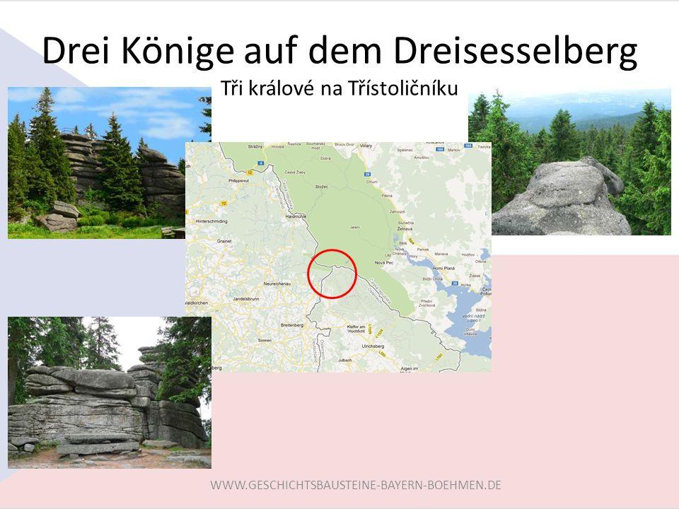Drei Könige auf dem Dreisesselberg Tři králové na Třístoličníku