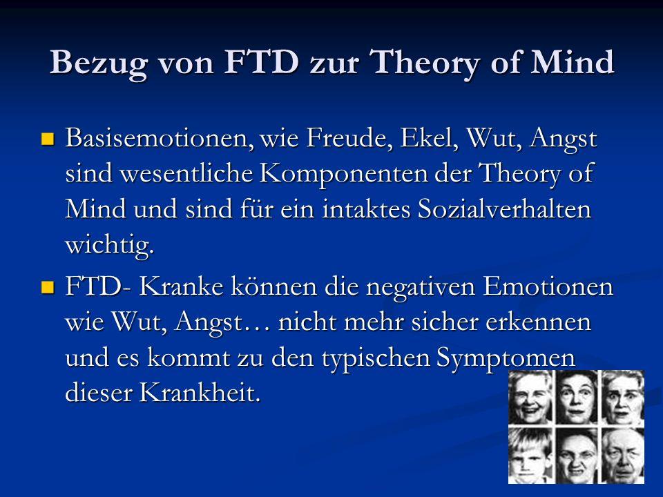 Bezug von FTD zur Theory of Mind