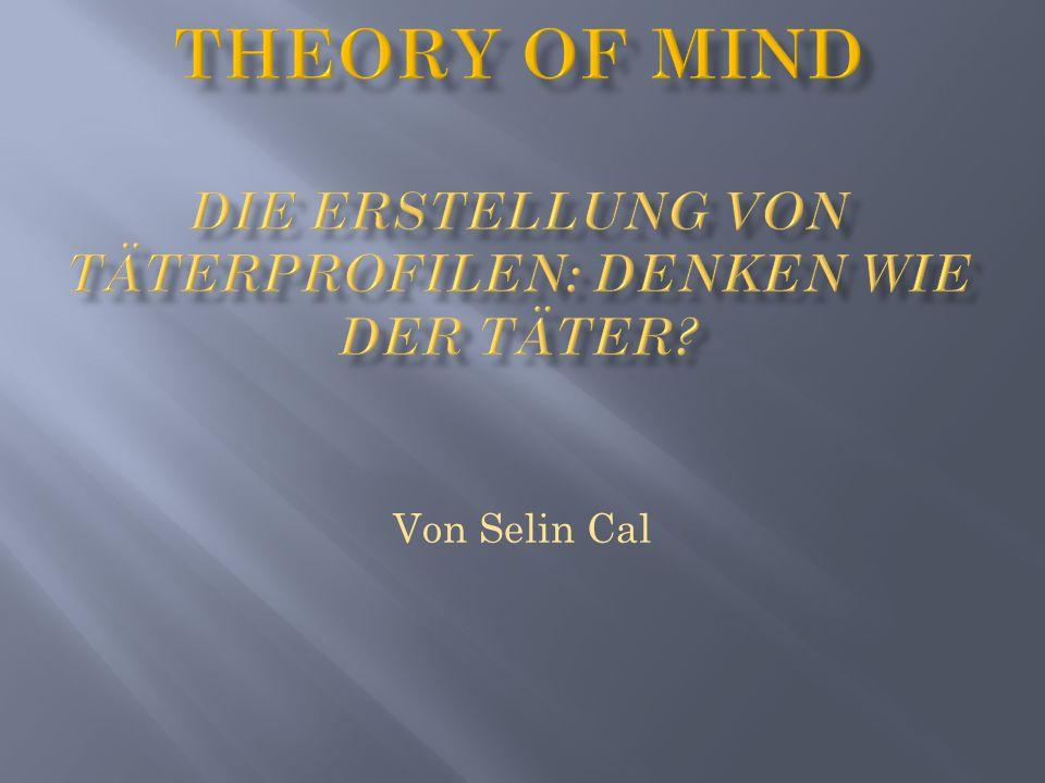 Theory of mind Die erstellung von täterprofilen: denken wie der täter