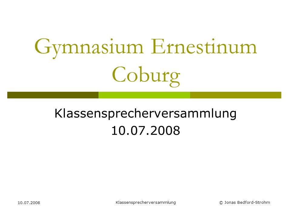 Gymnasium Ernestinum Coburg