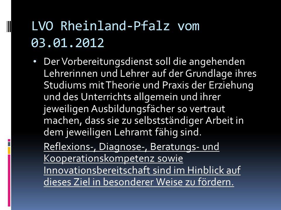 LVO Rheinland-Pfalz vom 03.01.2012