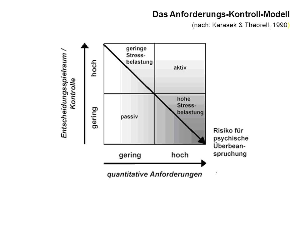 Das Anforderungs-Kontroll-Modell