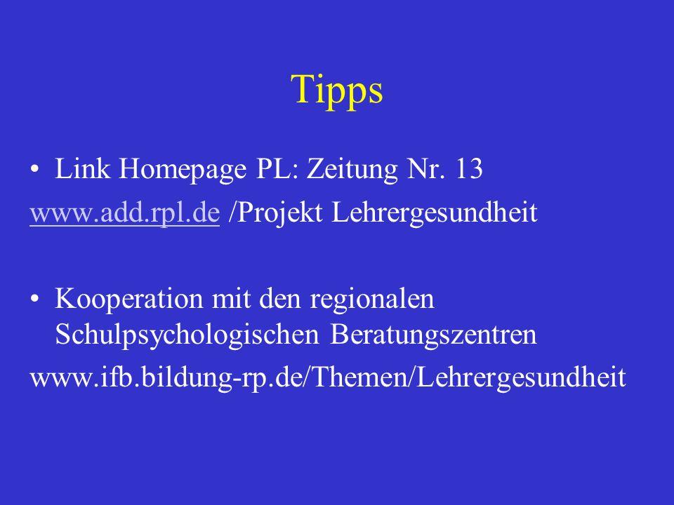 Tipps Link Homepage PL: Zeitung Nr. 13