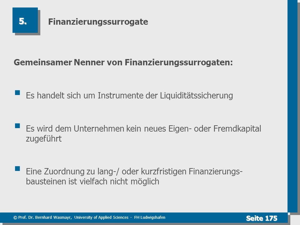 Finanzierungssurrogate