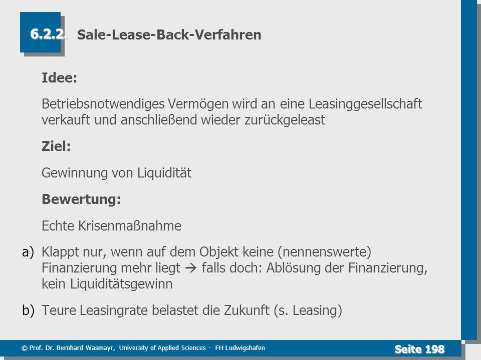 Sale-Lease-Back-Verfahren