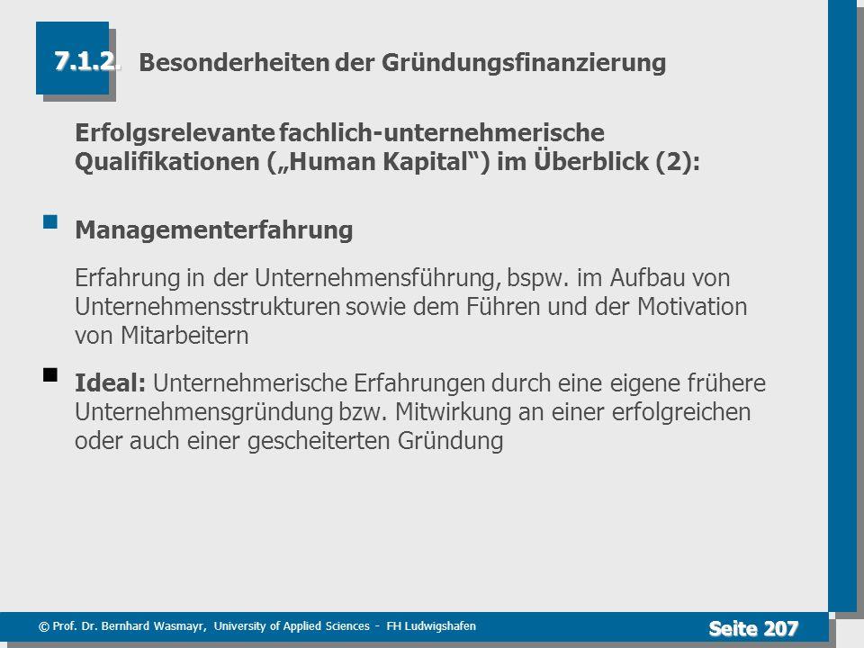 Besonderheiten der Gründungsfinanzierung
