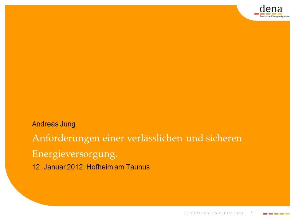 Andreas Jung Anforderungen einer verlässlichen und sicheren Energieversorgung.