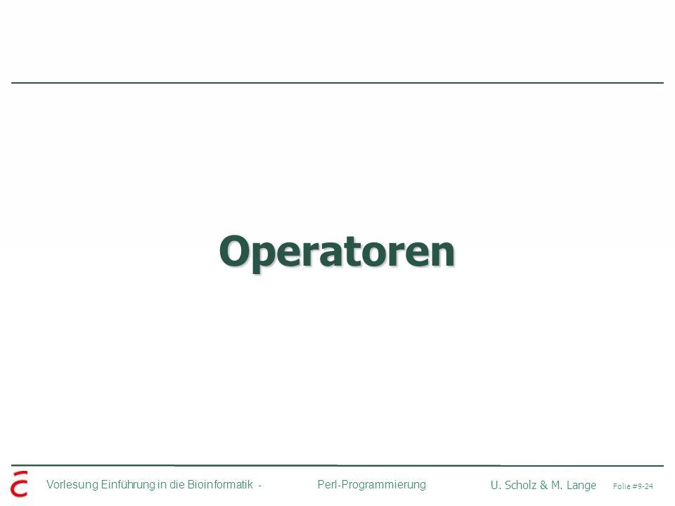 Operatoren