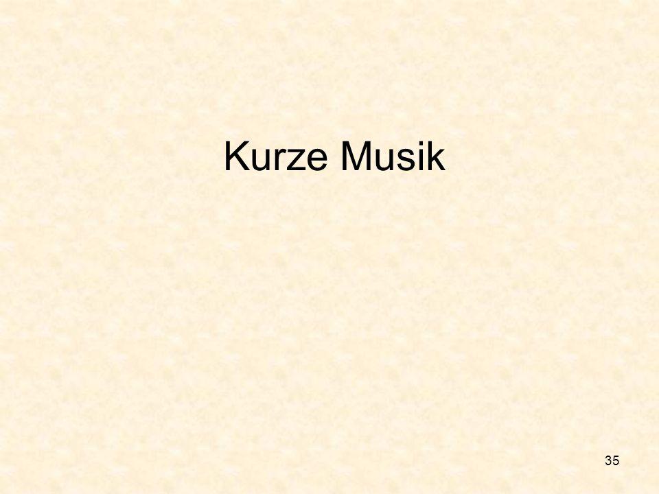 Kurze Musik