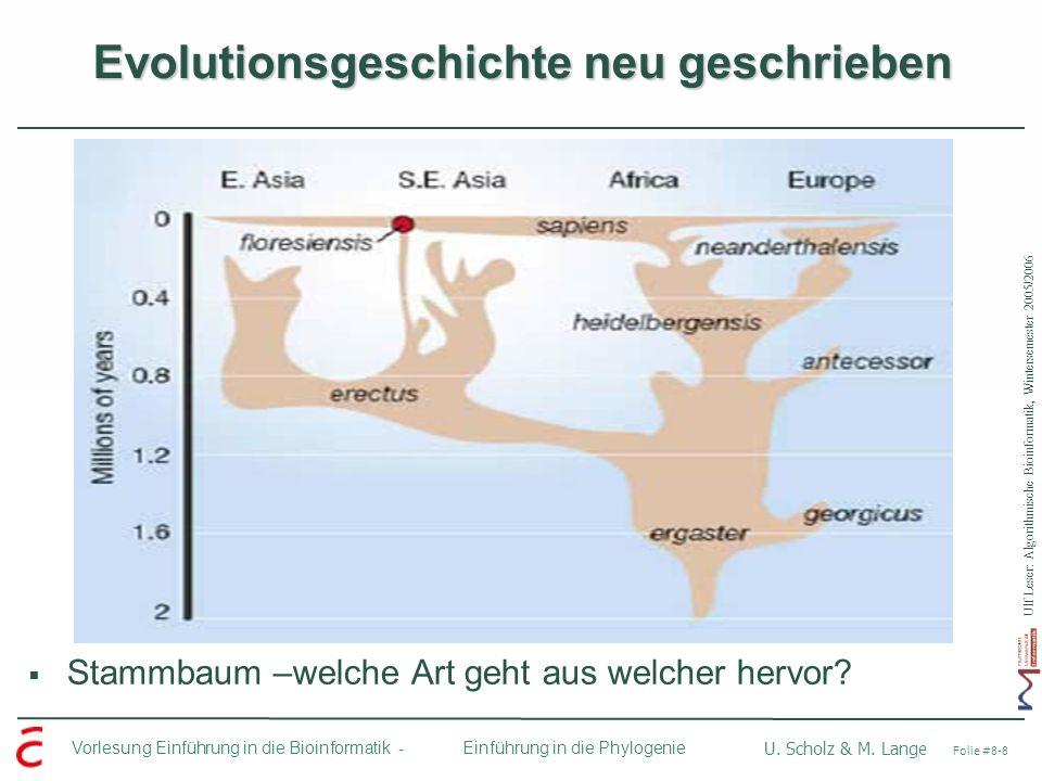Evolutionsgeschichte neu geschrieben