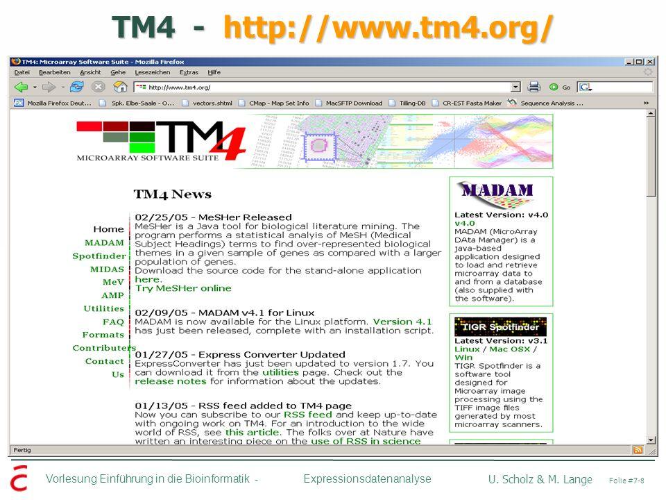 TM4 - http://www.tm4.org/