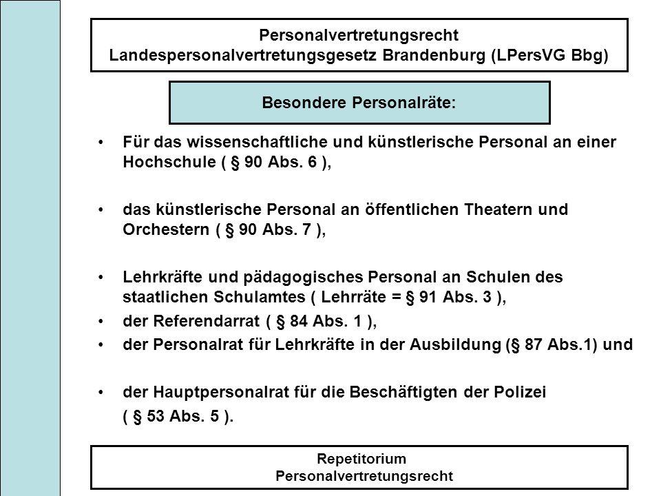 Besondere Personalräte: