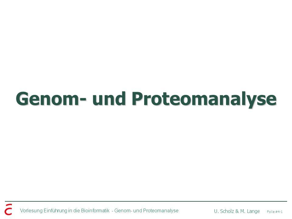 Genom- und Proteomanalyse