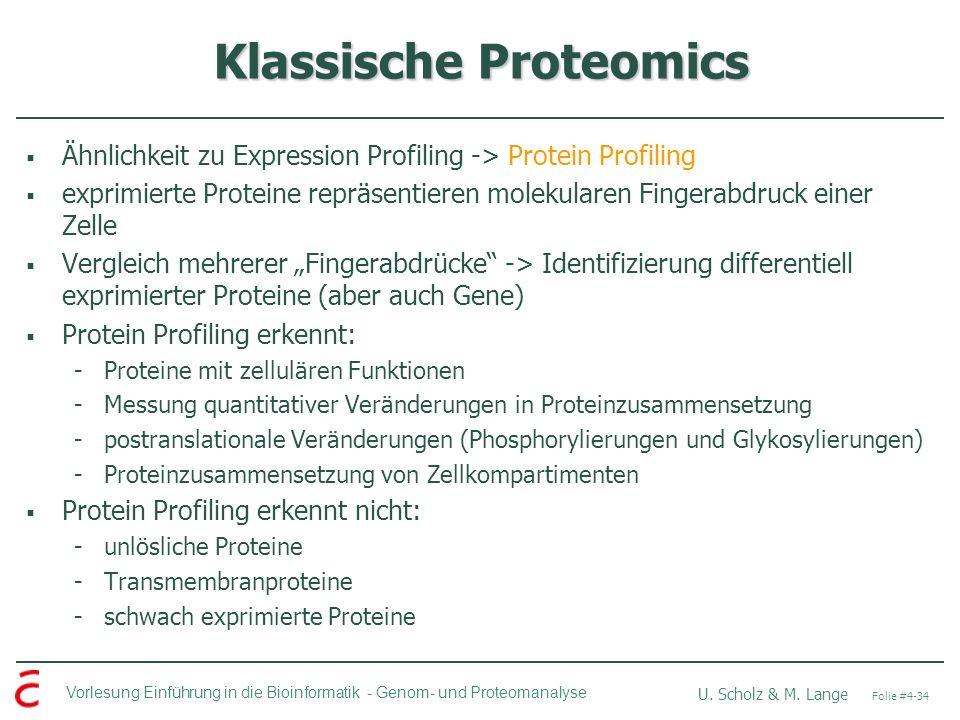 Klassische Proteomics