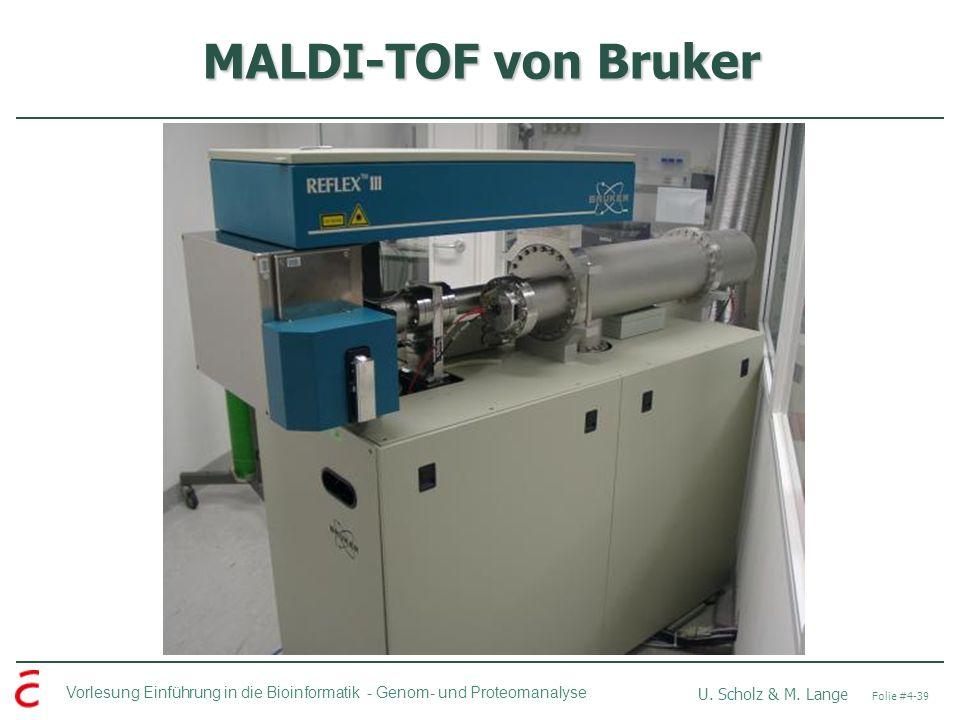 MALDI-TOF von Bruker