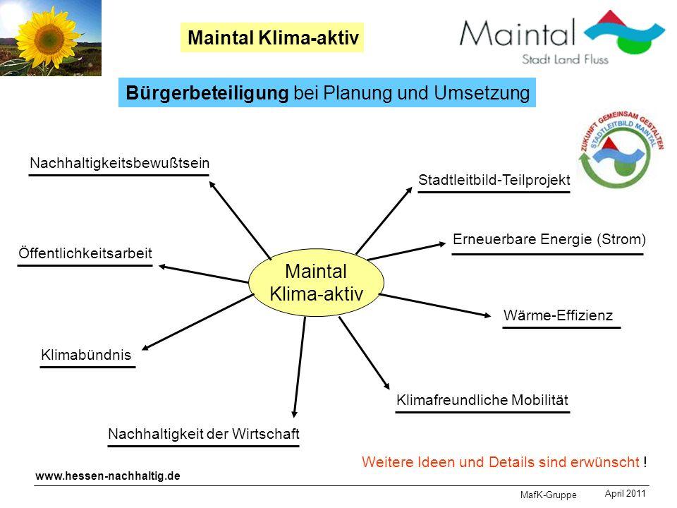 Bürgerbeteiligung bei Planung und Umsetzung