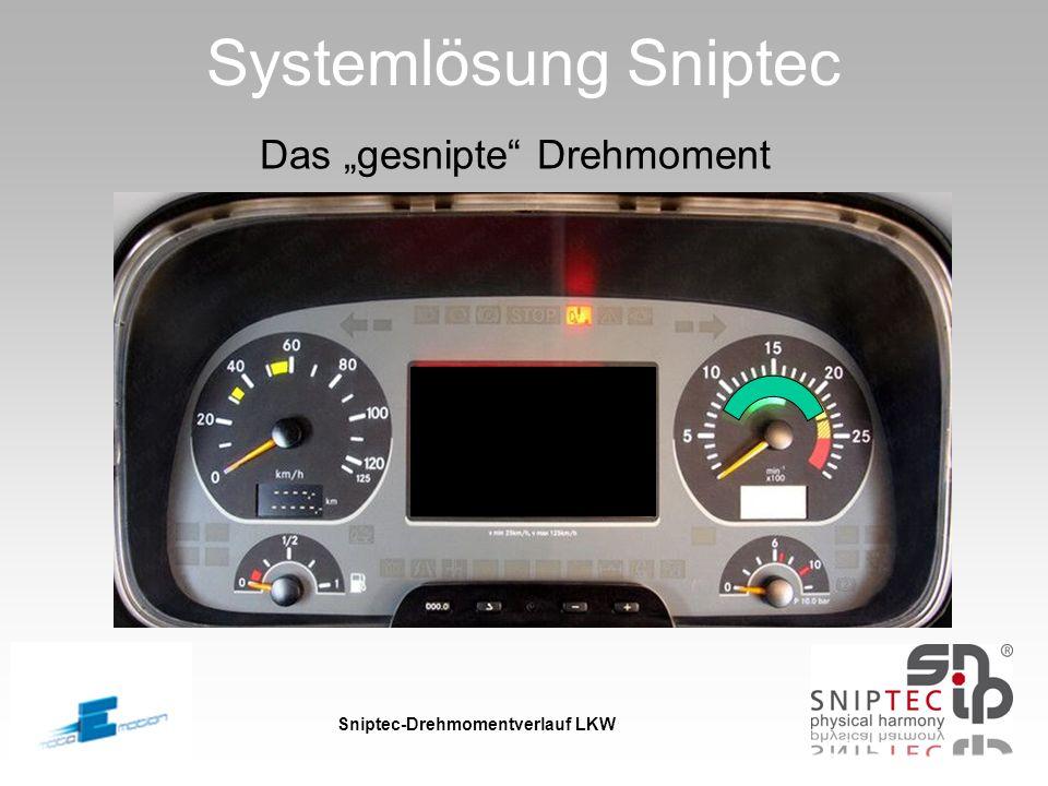 Sniptec-Drehmomentverlauf LKW