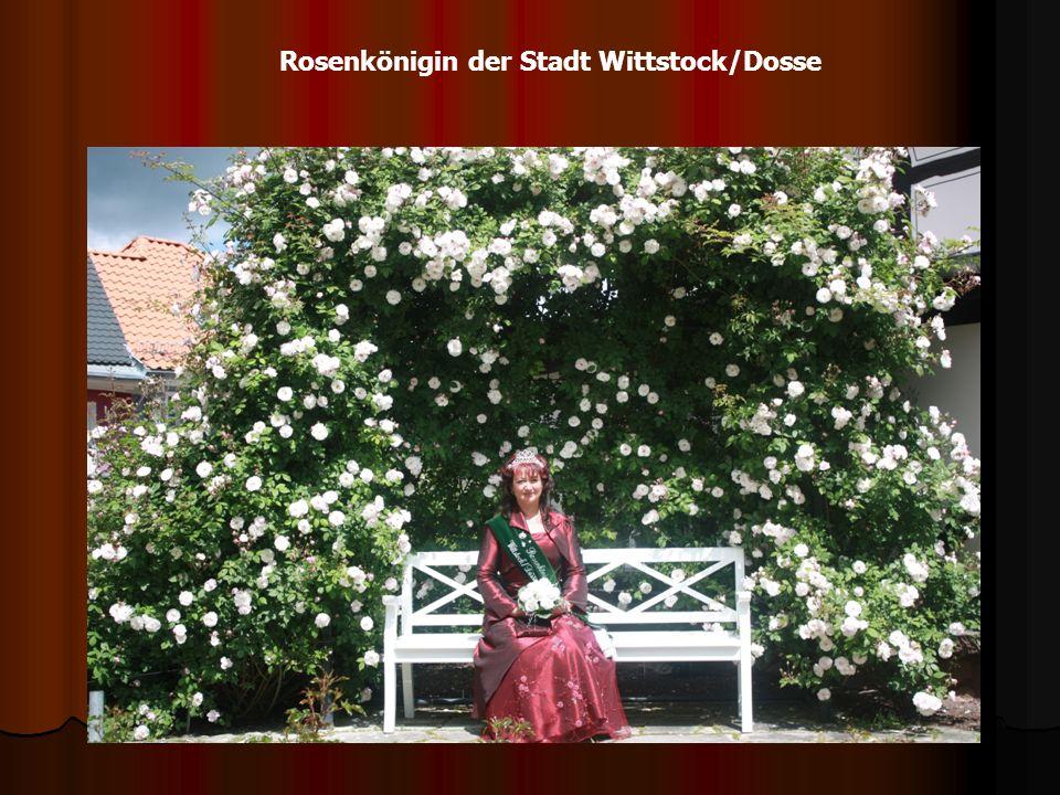 Rosenkönigin der Stadt Wittstock/Dosse