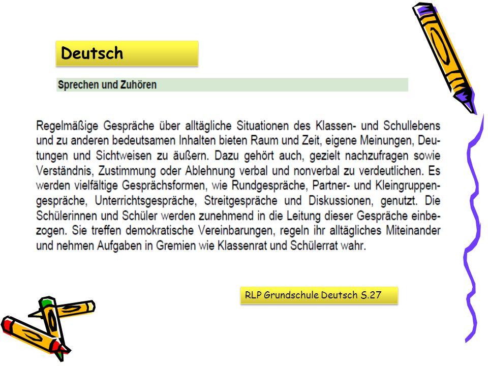 Deutsch RLP Grundschule Deutsch S.27