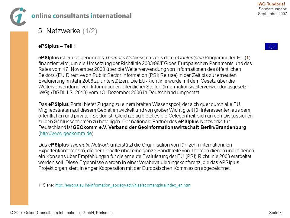 5. Netzwerke (1/2) ePSIplus – Teil 1