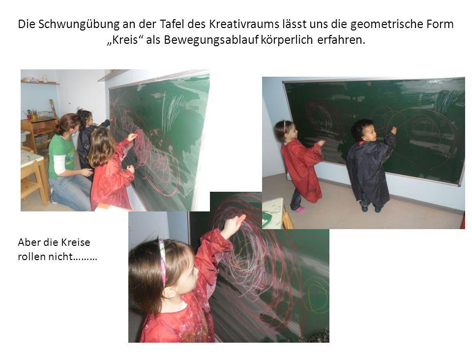 """""""Kreis als Bewegungsablauf körperlich erfahren."""