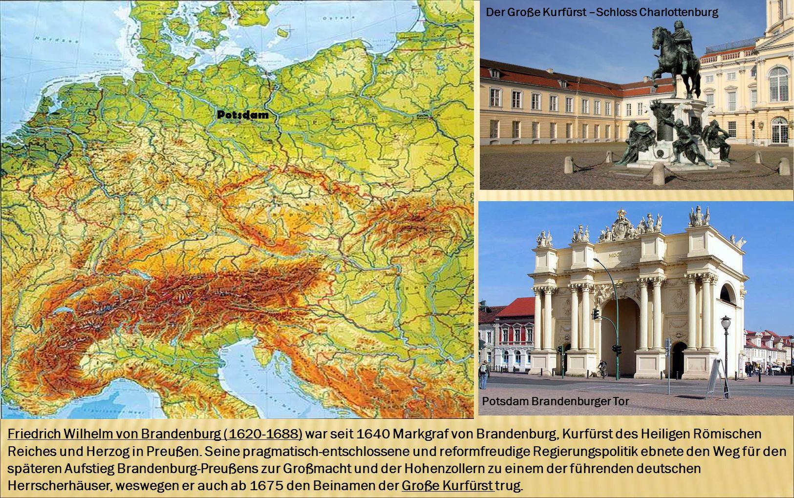 Der Große Kurfürst –Schloss Charlottenburg