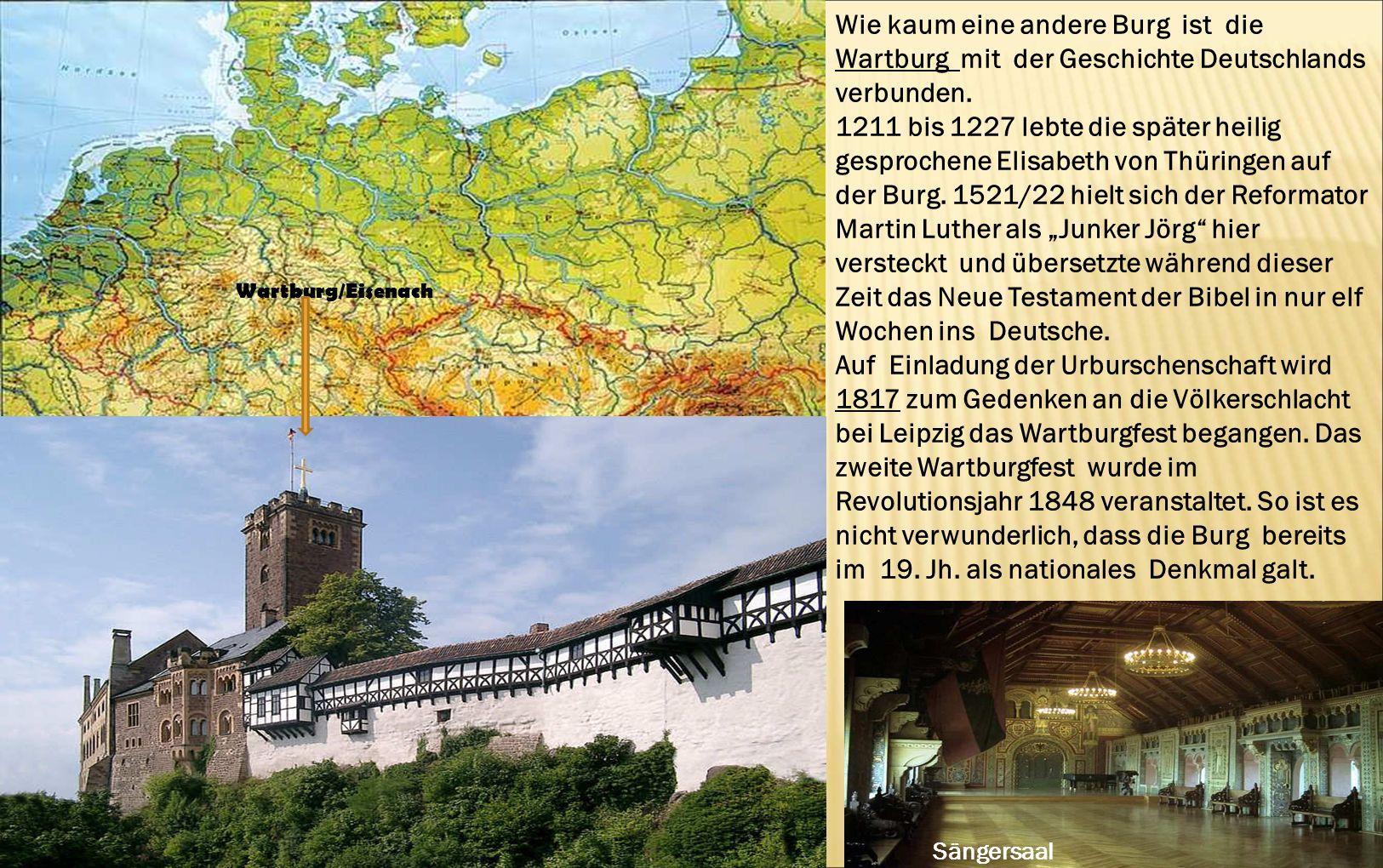1211 bis 1227 lebte die später heilig