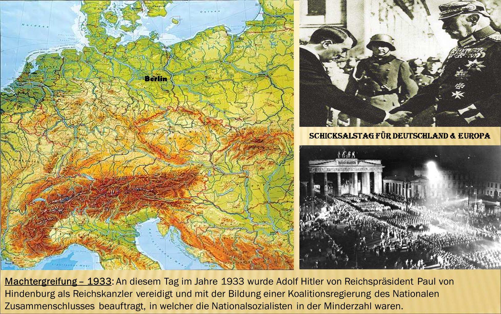 Schicksalstag für Deutschland & Europa