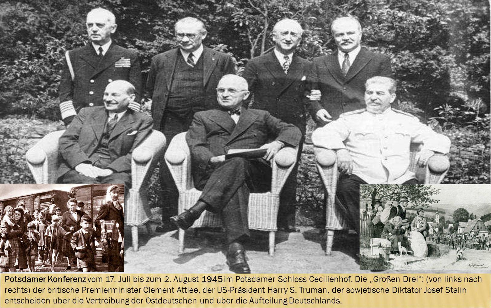 Potsdamer Konferenz vom 17. Juli bis zum 2