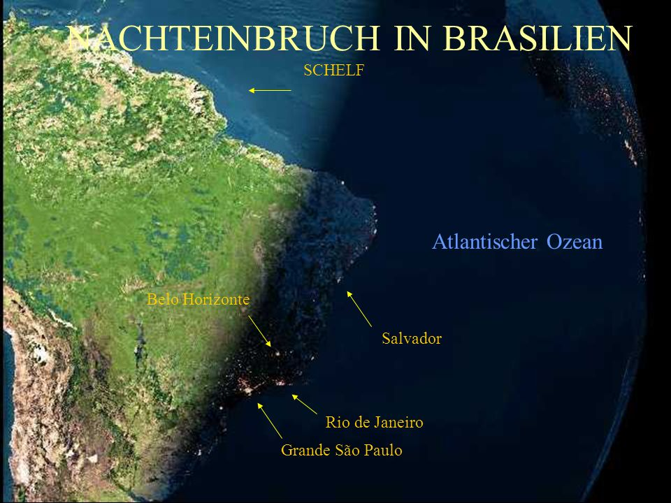 NACHTEINBRUCH IN BRASILIEN