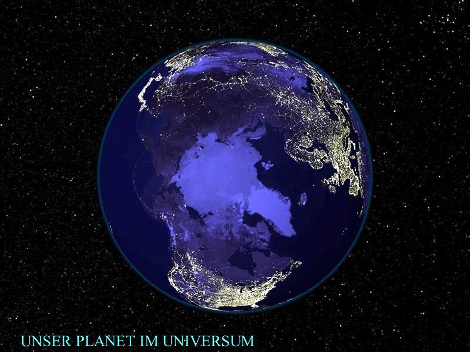 UNSER PLANET IM UNIVERSUM