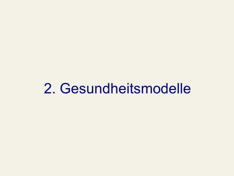 2. Gesundheitsmodelle