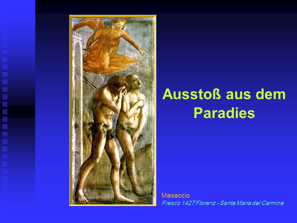 Ausstoß aus dem Paradies