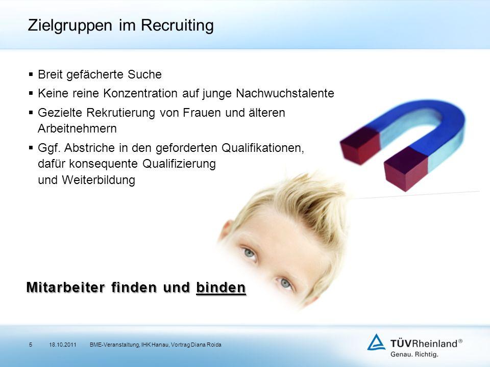 Zielgruppen im Recruiting