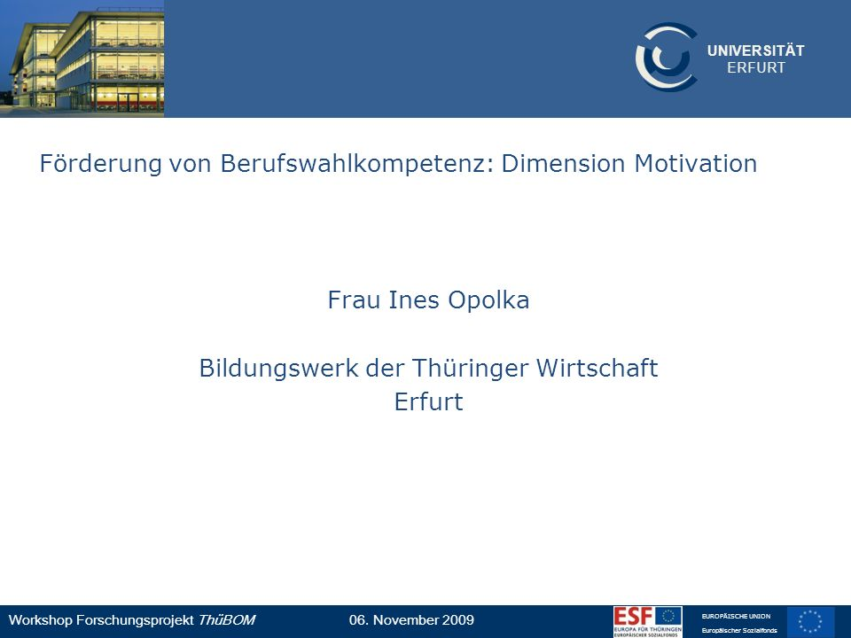 Bildungswerk der Thüringer Wirtschaft