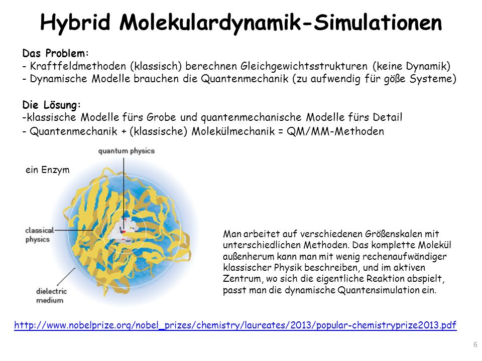 Hybrid Molekulardynamik-Simulationen