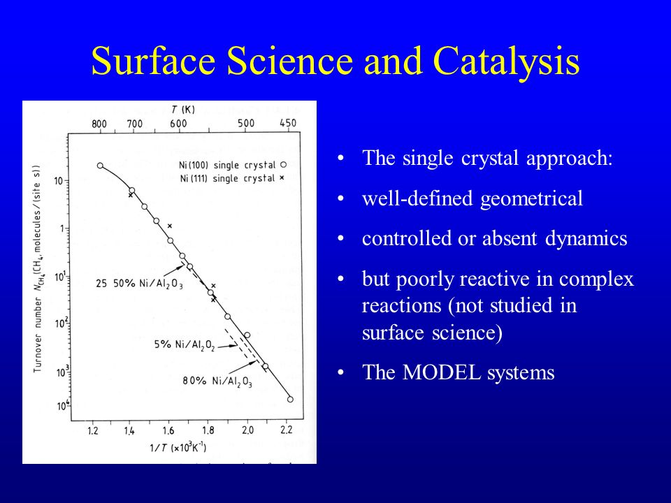 Surface Science and Catalysis