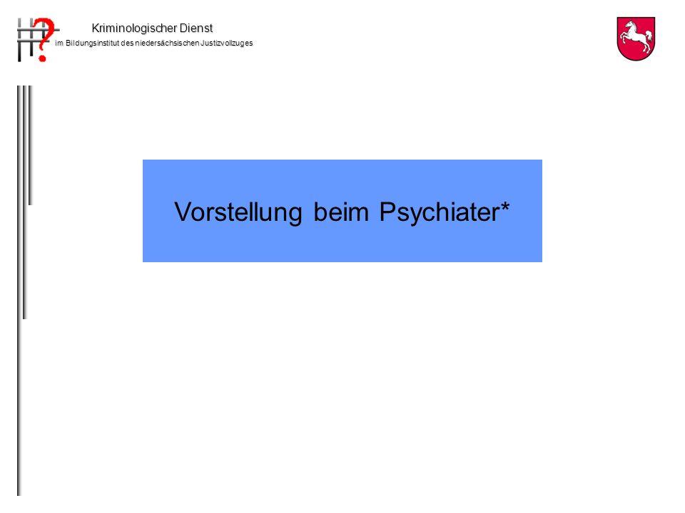 Vorstellung beim Psychiater*