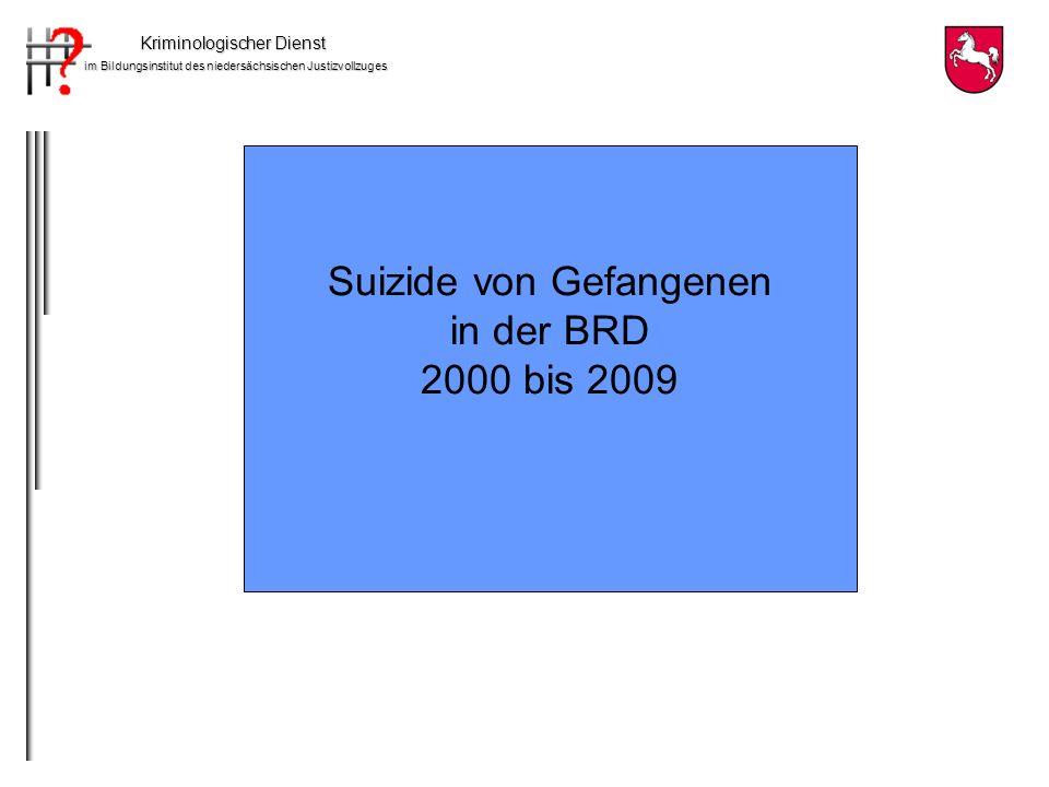 Suizide von Gefangenen