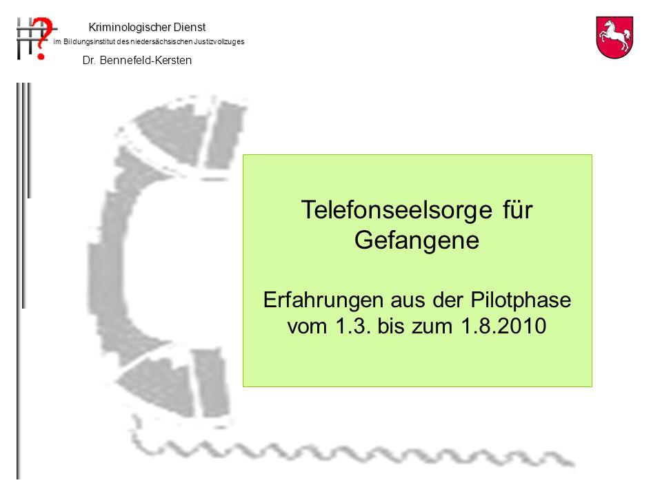 Telefonseelsorge für Gefangene