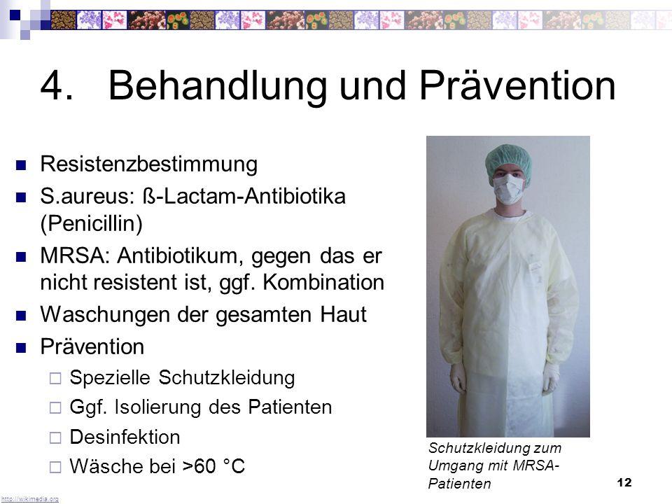 4. Behandlung und Prävention
