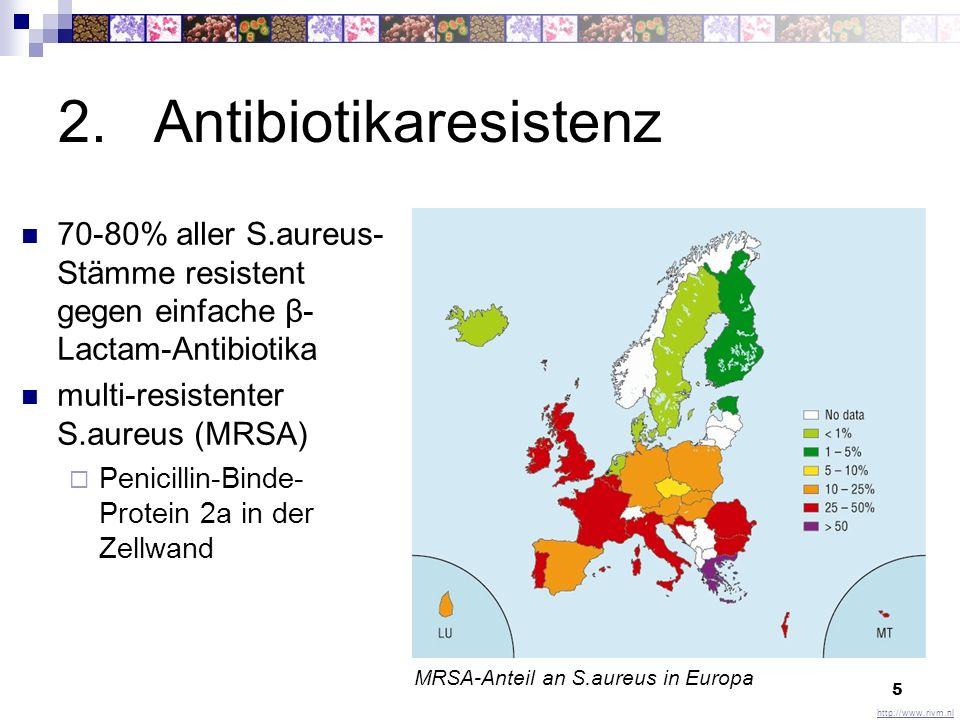 2. Antibiotikaresistenz