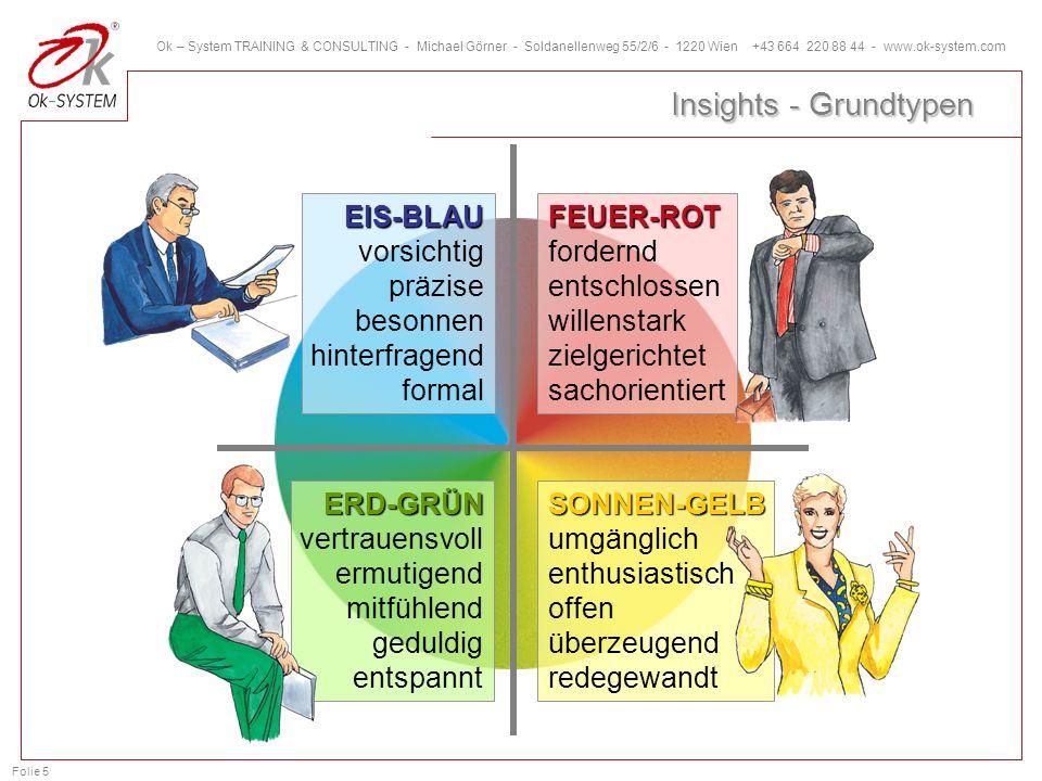 Insights - Grundtypen EIS-BLAU vorsichtig präzise besonnen