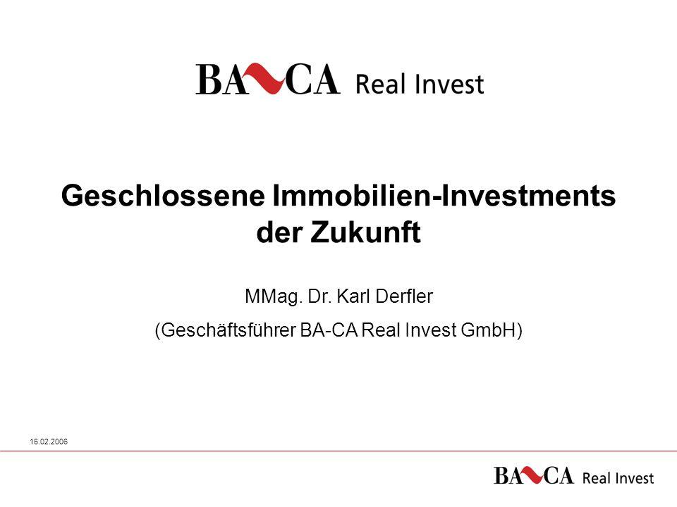 Geschlossene Immobilien-Investments der Zukunft