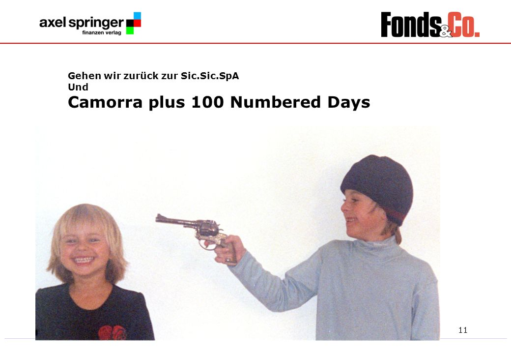 Camorra plus 100 Numbered Days