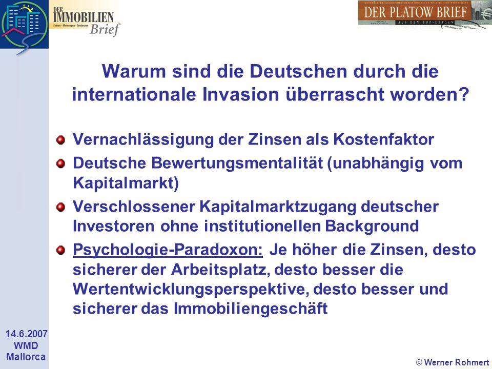 Warum sind die Deutschen durch die internationale Invasion überrascht worden