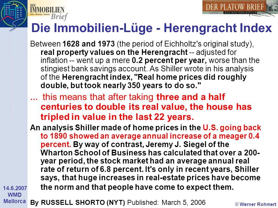 Die Immobilien-Lüge - Herengracht Index