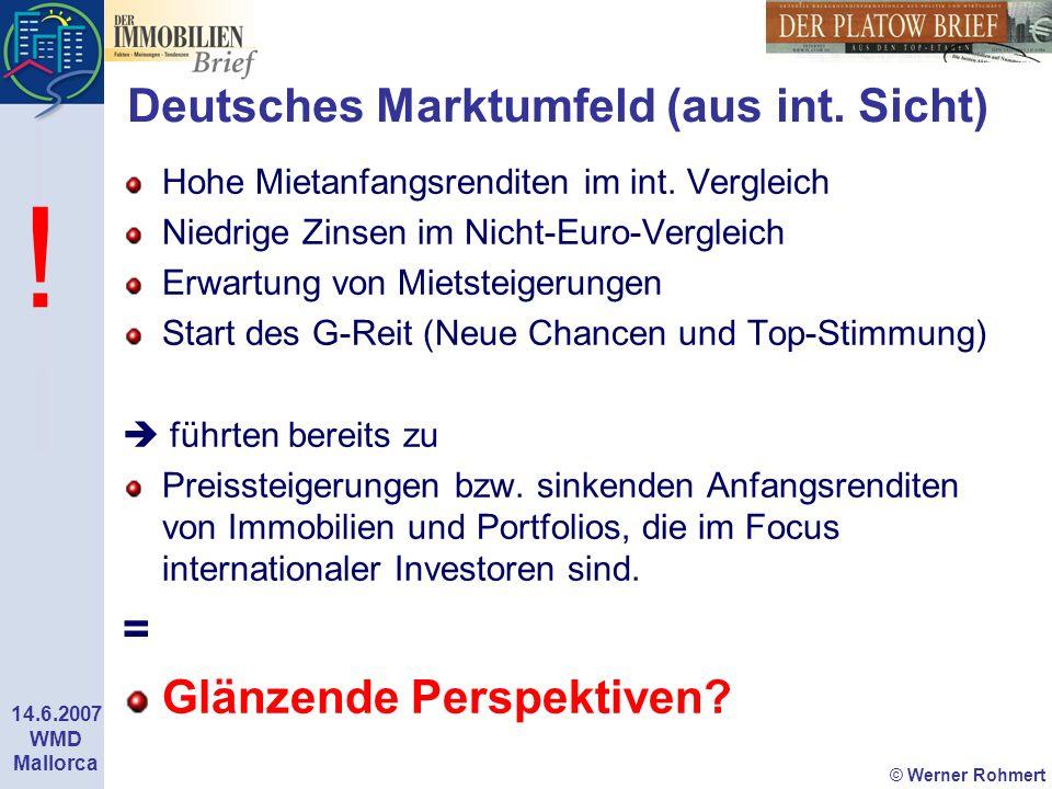 Deutsches Marktumfeld (aus int. Sicht)