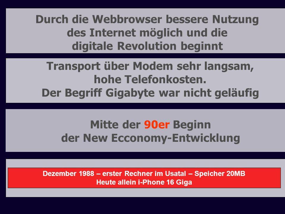 Durch die Webbrowser bessere Nutzung des Internet möglich und die